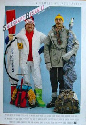 Sällskapsresan 2 – Snowroller - Poster