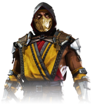 Scorpion (Mortal Kombat) - Image: Scorpion MKX Render