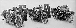 The Scott Motorcycle Company - Scott Mobile Machine Gun