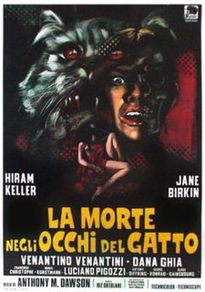 <i>Seven Deaths in the Cats Eye</i> 1973 film by Antonio Margheriti