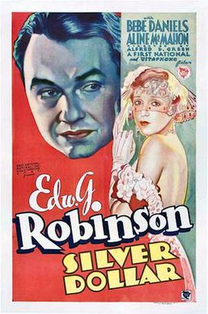 Silver Dollar (film) - 1932 Theatrical Poster