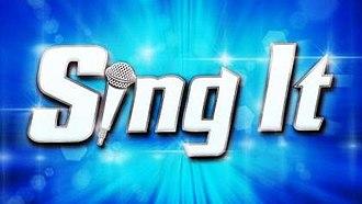 Sing It! - Image: Sing It (TV series)
