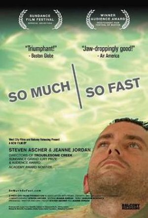 So Much So Fast - Promotional movie poster
