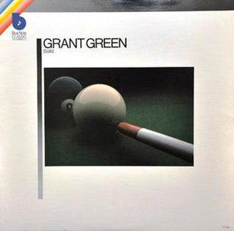 Solid (Grant Green album) - Image: Solid grant
