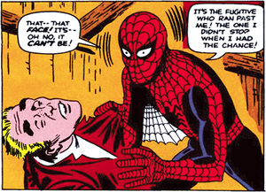 Burglar (comics) - Image: Spider Man burglar