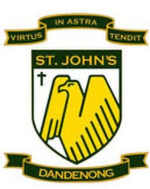St John's Regional College - Image: St Johns Dandenong