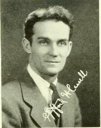 Stafford Cassell - Cassell pictured in Aucola 1941, American University yearbook