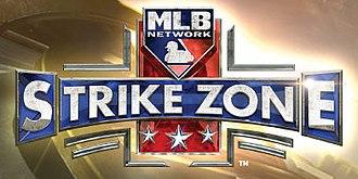 MLB Network - Strike Zone logo used in 2017
