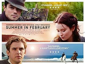 Summer in February - Theatrical release poster