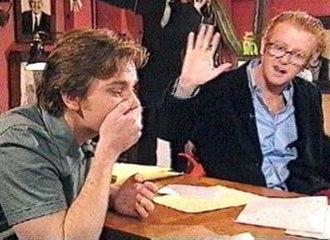 TFI Friday - Ewan McGregor, shortly after swearing on TFI Friday