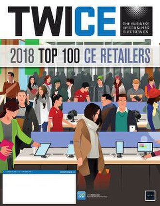 Twice (magazine) - Cover of TWICE magazine