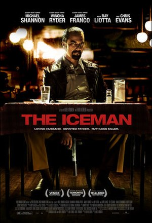 The Iceman (film) - Theatrical release poster