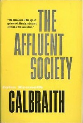 The Affluent Society - First edition cover