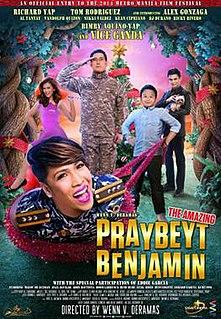 <i>The Amazing Praybeyt Benjamin</i> 2014 film by Wenn V. Deramas