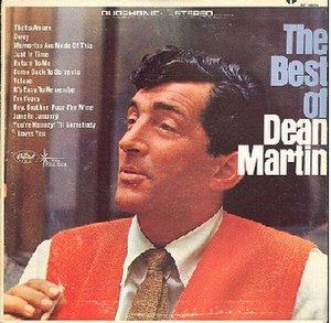 The Best of Dean Martin - Image: The Best of Dean Martin