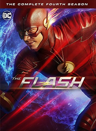 The Flash (season 4) - Home media cover