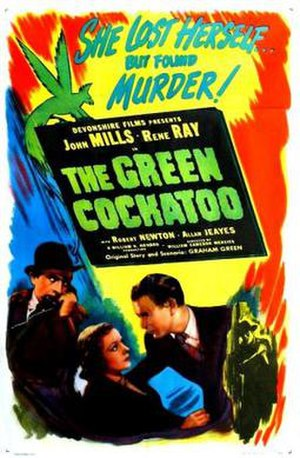 The Green Cockatoo - Theatrical release poster