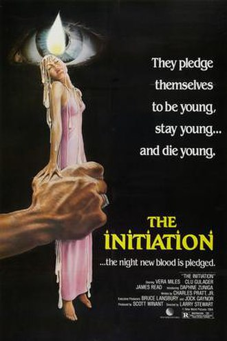 The Initiation (film) - Theatrical release poster