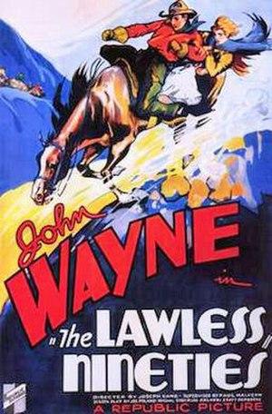 The Lawless Nineties - Film poster