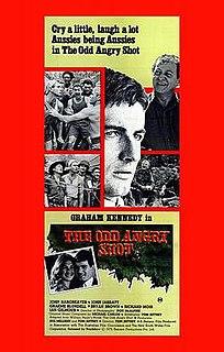 <i>The Odd Angry Shot</i> 1979 film by Tom Jeffrey