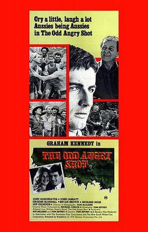 The Odd Angry Shot - Theatrical release poster