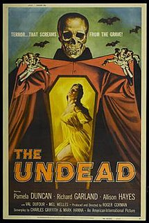 <i>The Undead</i> (film) 1957 film by Roger Corman