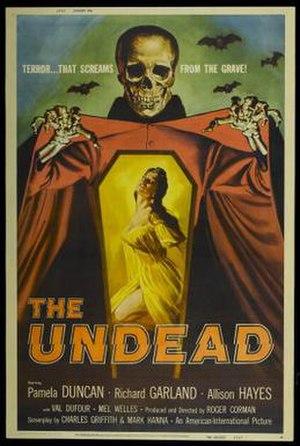 The Undead (film) - film poster by Albert Kallis