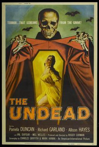 The Undead (film) - Theatrical release poster by Albert Kallis