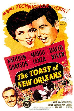 The Toast of New Orleans - Theatrical release poster