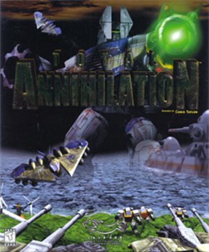 Total Annihilation - Cover art of Total Annihilation