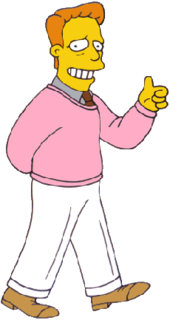 Troy McClure Fictional character from The Simpsons franchise