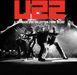 U22 (album) - Image: U22 A 22 Track Live Collection from U2360°