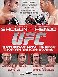A poster or logo for UFC 139: Shogun vs. Henderson.