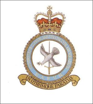 Universities of Glasgow and Strathclyde Air Squadron - Image: Ugsas crest