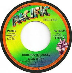 Undercover Angel (song) - Image: Undercover Angel label