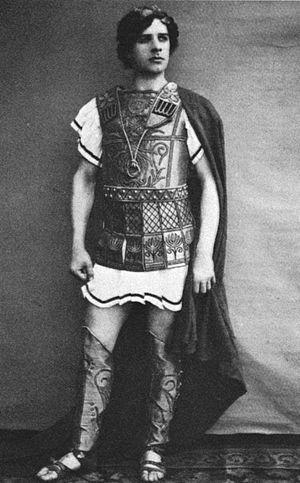The Vestal - Mikhail Mordkin as Lucio ca. 1900