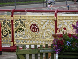 Victoria Pier - Decorative railings on the pier