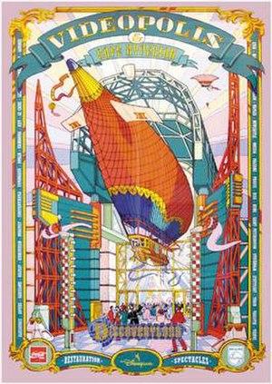 Videopolis (Disneyland Paris) - Image: Videopolis Poster