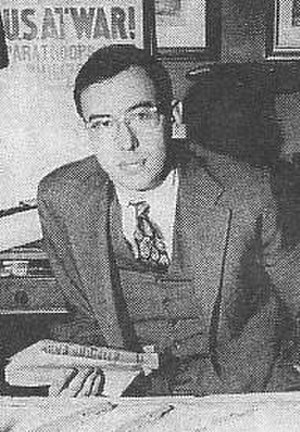 A Night to Remember (book) - Walter Lord, author of A Night to Remember, pictured in 1958
