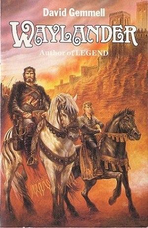 Waylander (novel) - 1st 1986 paperback cover