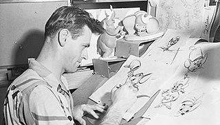 Wolfgang Reitherman American animator