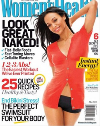 Women's Health (magazine) - Cover of the May 2009 issue