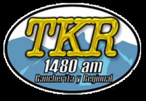 XETKR-AM - Image: XETKR TKR1480 logo