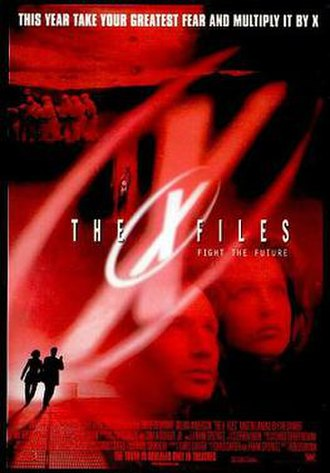 The X-Files (film) - Theatrical release poster