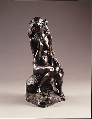 National Museum of Women in the Arts - Camille Claudel, Young Girl with a Sheaf, ca. 1890