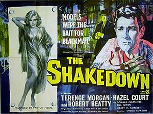 The Shakedown (1959 film) - Original British poster