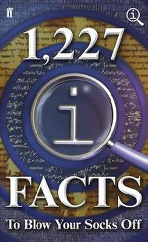 1,227 QI Facts to Blow Your Socks Off - The original UK cover.
