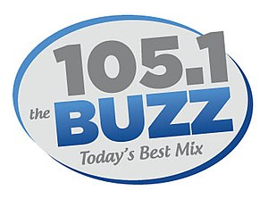 KRSK - Image: 105.1 The Buzz logo