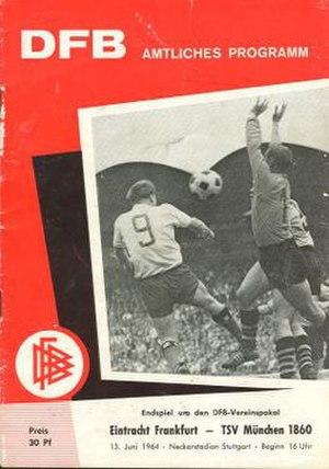 1964 DFB-Pokal Final - Image: 1964 DFB Pokal Final programme