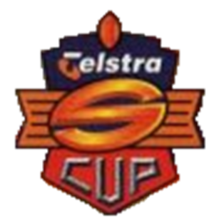 1997 Super League (Australia) season - Image: 1997 super league (aus) telstra cup logo